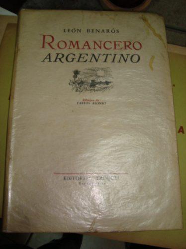 Romancero Argentino, León Benarós