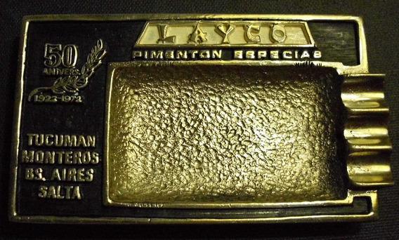 Cenicero 50 Aniversario Especias Layco