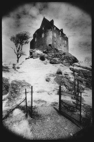 Poster En Blanco Y Negro - Duntroon Castle, Argyllshine