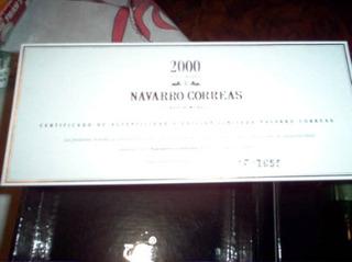 Navarro Correas . Ed Especial Nuevo Milenio - Bod Bianchi