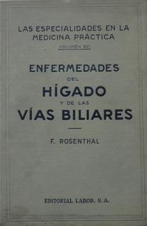 Enfermedades Del Hígado Y De Las Vías Biliares - Rosenthal