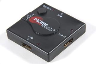 Hub Hdmi 3 Portas Hdmi Xbox, Tv Playstation Blue-ray