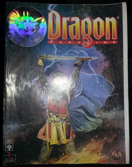 Revista Dragon Magazine Nº 1 Editora Abril 1995 - Rpg