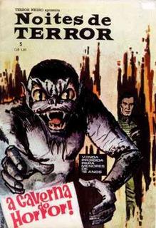 Noites De Terror Nº 5 - Ed. Trieste - 1972 - Hq