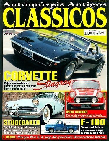 Revista Automóveis Antigos & Clássicos 16 - Corvette, F-100