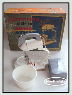 Batedeira Elétrica Arno/atma - Anos 60 - F(263)
