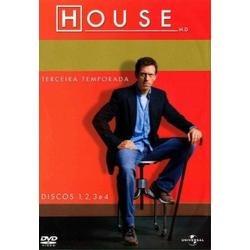House M.d - A 3ª Temporada - 6 Dvds - Original Dvd