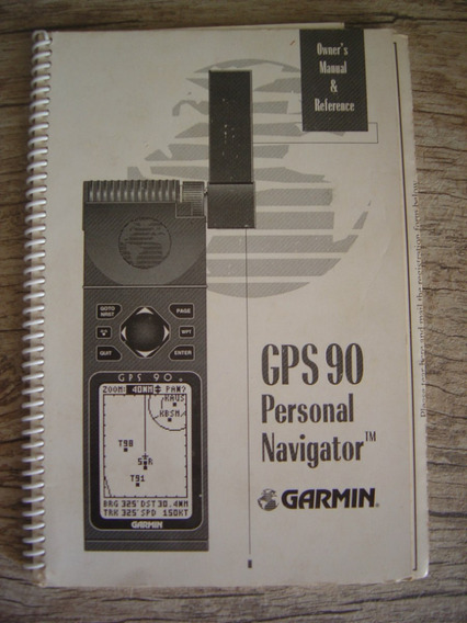 Manual Gps Garmin 90 - Manual De Operação