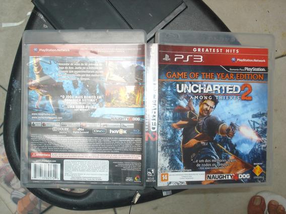 Uncharted 2 Ps3 Brasil Midia Fisica Original