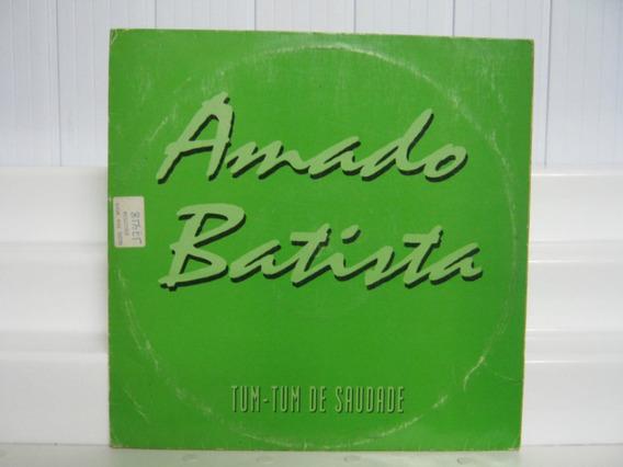 Amado Batista Tum Tum De Saudade Lp Vinil Single Rca 1995