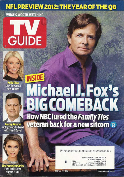 Tv Guide: Michael J. Fox / Jeff Lewis / Manning Brothers