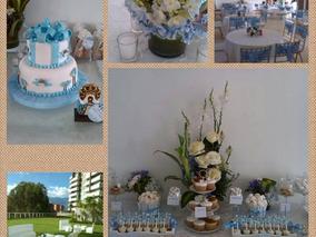 Mesa De Vidrio Sillas Tifany Lounge Puff Copas Platos Vasos