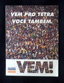 Tabela Jogos Tetra Copa Mundo Propaganda Antiga