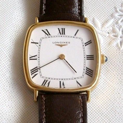 Relógio De Pulso Unisex A Corda Longines.
