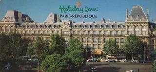 Cartão Postal Hotel Holiday Inn Paris