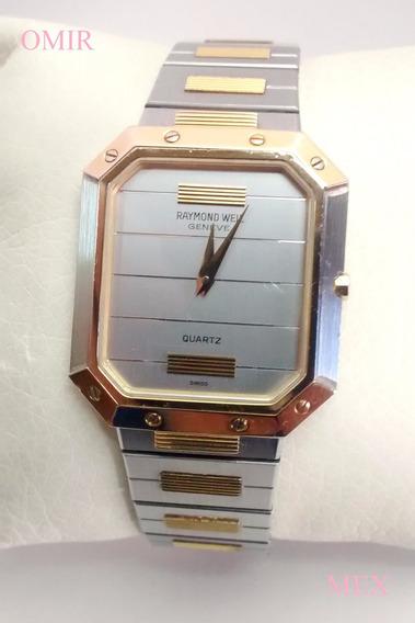 Reloj Raymond Weil Chapa Oro Acero