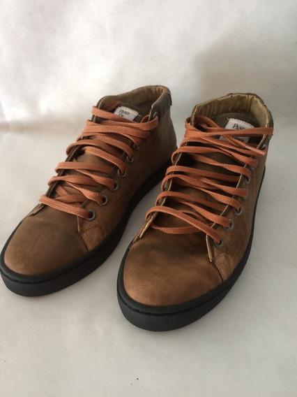 Zapatillas Botitas Cuero Hombre Urbanas