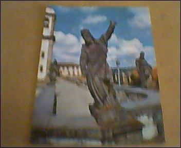 Cartão Postal -congonhas Mg- Aleijadinho-varig-mercator