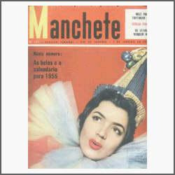 Manchete Nº 141: Norma Benghel Niemeyer São Paulo - 1955