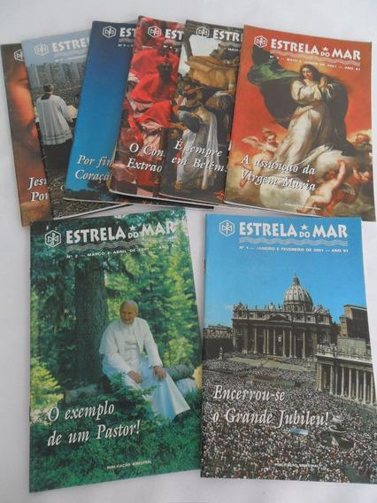 Revista Estrela Do Mar Lote Com 8 Revistas Veja Descrição