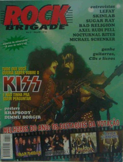 Kiss Revista Rock Brigade No. 152 Março 1999 Ano 18