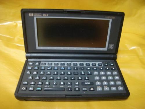 Palm Top Hp- 95lx - Usa - No Estado - Mineirinho - Leia -