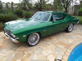 Chevelle 1968 Versão Rara 2 Portas Com Coluna Opala Maverick