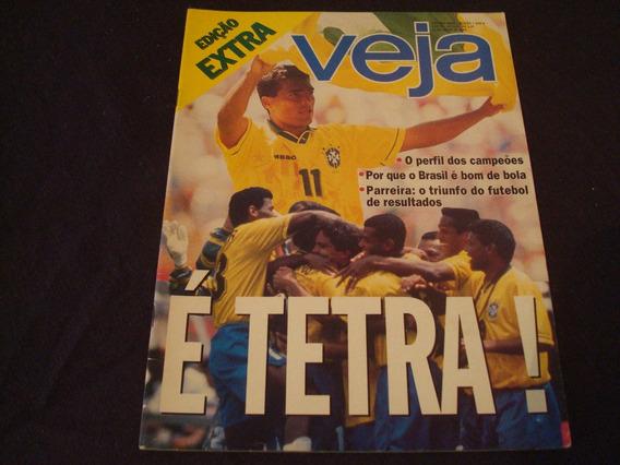 Revista Veja 1349a - Julho/1994 - Edição Extra - É Tetra!