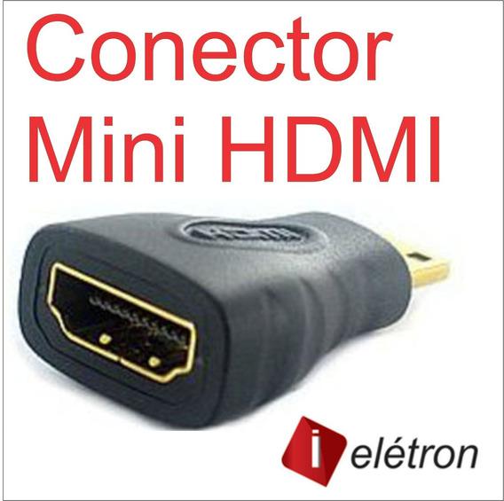 Mini Hdmi X Hdmi Femea - Adaptador Para Positivo Ypy L700