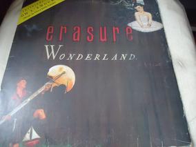 Lp Erasure Wonderland Pop / Rock - C / Encarte (b2)