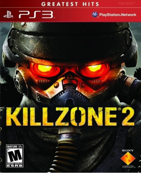 Jogo Ps3 - Killzone 2 (mídia Física/original)