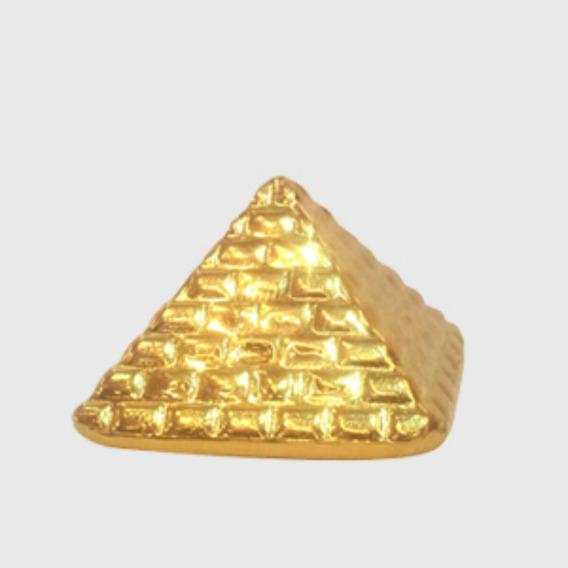 Barra De Ouro 24k 999,9 50g (piramide) Investimento