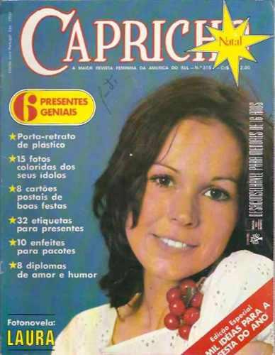 Capricho Nº 315 - Edição De Natal - Fotonovela - 1972