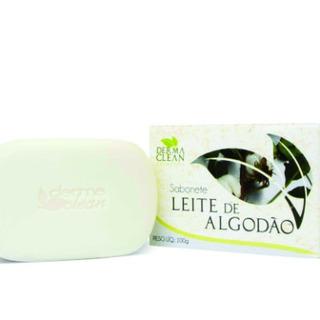 Sabonete De Leite De Algodão - 100g - Dermaclean