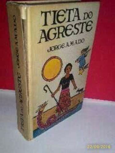 Livro Tieta Do Agreste - Jorge Amado *foto Real Jorge Amado