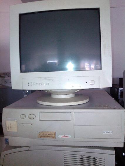 Computador Cpu Unisys Pentium 3 128 Ram