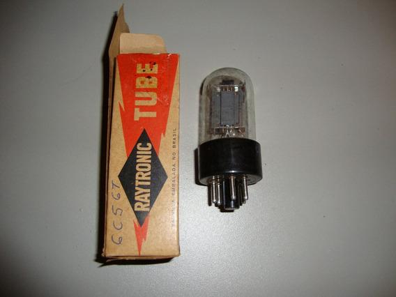 Válvula 6c5 Gt - Amplificador De Áudio E Osciladora