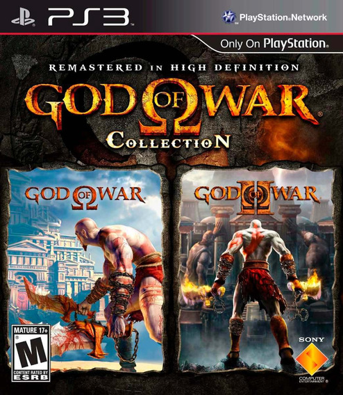 Game Ps3 God Of War Collection God Of War 1 E 2 Greatest Hts