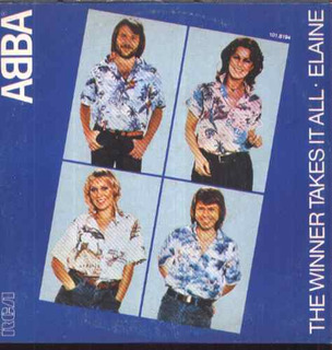Abba Compacto Vinil The Winner Takes It All 1980