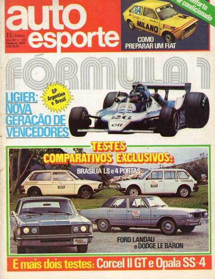 Auto Esporte Nº172 Landau Dodge Le Baron Opala Ss4 Corcel Gt