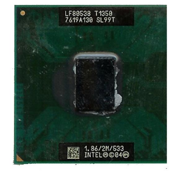 Processador 1.86ghz Intel Core Solo T1350 2m 533mhz Sl99t