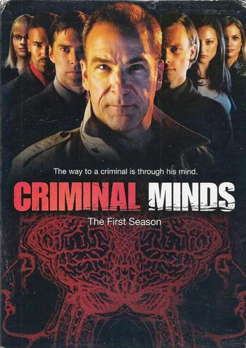 Criminal Minds Mentes Criminales Temporada 1 Uno En Dvd Mercado Libre