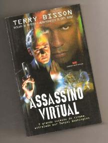 Livro Assassino Virtual - Terry Bisson