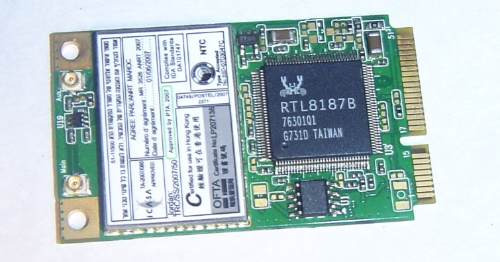 Placa Mini Pci Wifi Wireless Notebook Toshiba 802.11 A B G