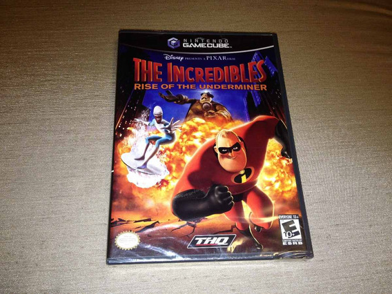 The Incredibles Rise Of The Underminer Gamecube Lacrado