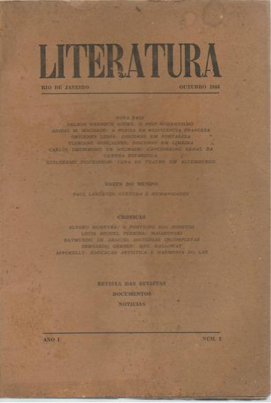 Revista Literatura - Ano 1 - Número 1