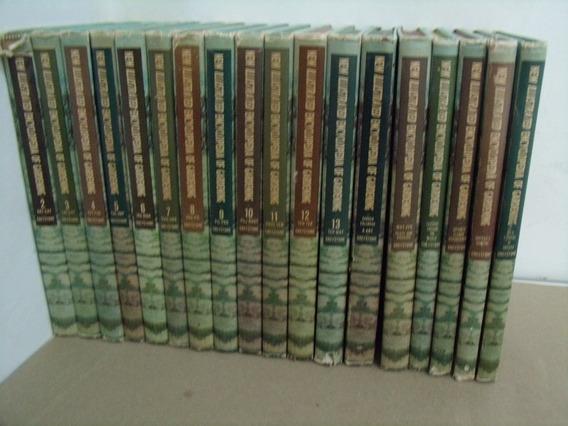 Coleção New Illustrated Encyclopedia Of Gardening 18 Volumes