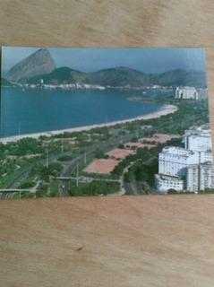 Cartão Postal - Pão De Açucar - Hotel Glória - Pq Flamengo