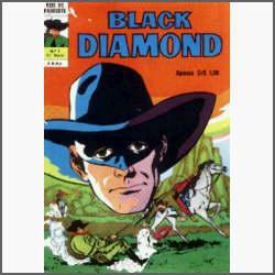 Black Diamond Nº 4: A Pena Rubra - Ebal - 1974 - Hq