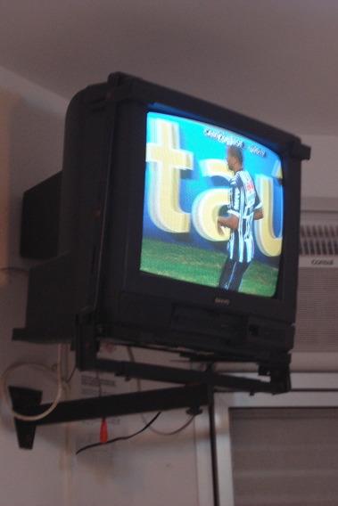 Tv Sanyo 20 Com Controle Remoto 110v Usado